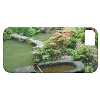 Asia, Japón, Kyoto. Jardín del zen iPhone 5 Carcasas