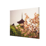 Asia, Japón, Kyoto, templo de Kiyomizu en Impresiones En Lona Estiradas
