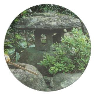 Asia, Japón, Nagasaki, Hirado, residencia del samu Plato Para Fiesta