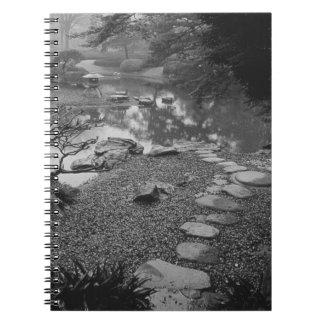 Asia, Japón, Tokio, detalles, palacio imperial Spiral Notebooks