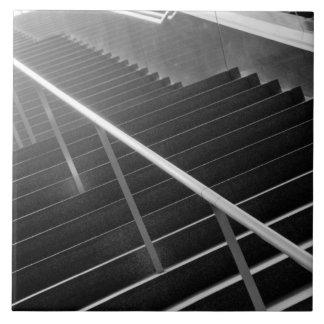 Asia, Japón, Tokio. Escaleras, International 3 de  Azulejo Cuadrado Grande