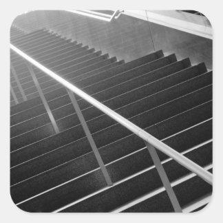 Asia, Japón, Tokio. Escaleras, International 3 de Pegatina Cuadrada
