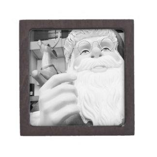 Asia, Japón, Tokio. Papá Noel en Ikebukuro Cajas De Recuerdo De Calidad