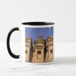 Asia, Jordan, Petra. El Deir, the Monastery. 2 Mug
