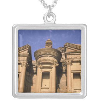 Asia, Jordan, Petra. El Deir, the Monastery. 2 Custom Necklace