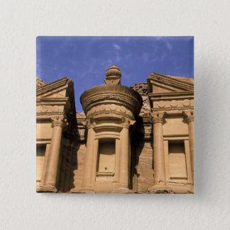Asia, Jordan, Petra. El Deir, the Monastery. 2 Pinback Button