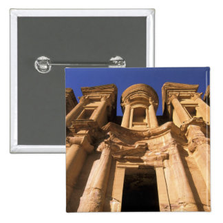 Asia, Jordan, Petra. El Deir, The Monastery. Button