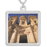 Asia, Jordan, Petra. El Deir, The Monastery. Personalized Necklace