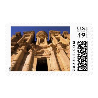 Asia, Jordan, Petra. El Deir, The Monastery. Postage