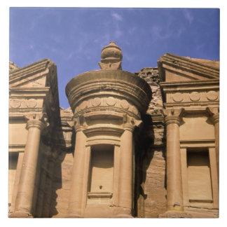 Asia, Jordania, Petra. EL Deir, el monasterio. 2 Teja Cerámica