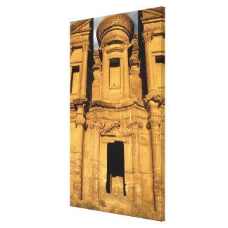 Asia Jordania Petra EL Deir el monasterio Impresiones En Lienzo Estiradas