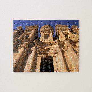 Asia, Jordania, Petra. EL Deir, el monasterio Puzzles