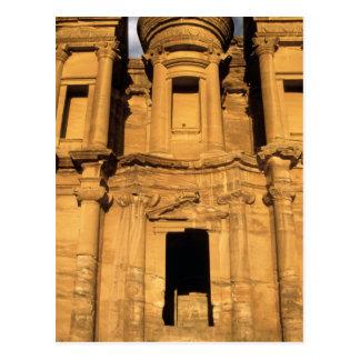 Asia, Jordania, Petra. EL Deir, el monasterio Postal