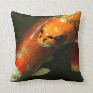 Asia Koi Fish Pillow
