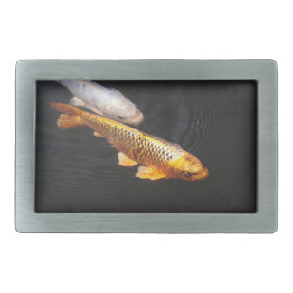 Asia Koi Fish Rectangular Belt Buckle
