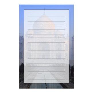 Asia; La India; Agra. El Taj Mahal. Papelería Personalizada