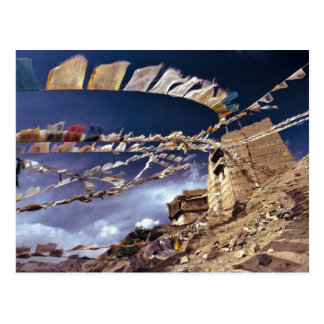Asia, la India, Ladakh, Leh. Conocido como poco Tarjetas Postales