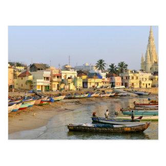 Asia, la India, Tamil Nadu, Kanniyakumari Tarjetas Postales