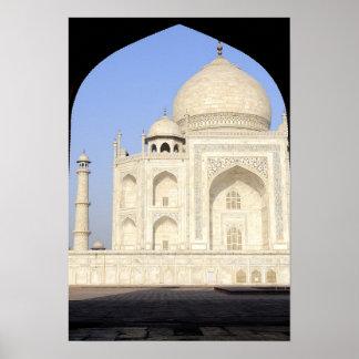 Asia, la India, Uttar Pradesh, Agra. El Taj 2 Poster