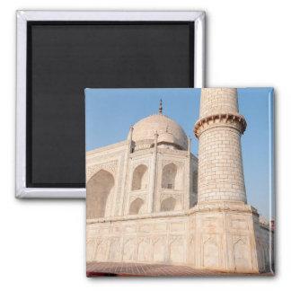 Asia, la India, Uttar Pradesh, Agra. El Taj 4 Imán Cuadrado