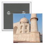 Asia, la India, Uttar Pradesh, Agra. El Taj 4 Pin Cuadrada 5 Cm