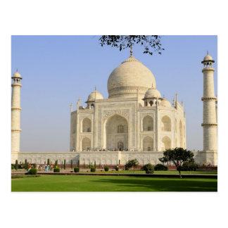 Asia, la India, Uttar Pradesh, Agra. El Taj 7 Tarjetas Postales