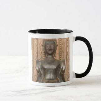 Asia, Laos, Vientiane, Bronze Buddha at Hawn Mug