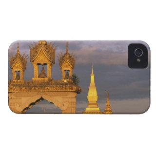 Asia, Laos, Vientiane. That Luang Temple. Case-Mate iPhone 4 Cases
