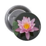 Asia Lotus Flower 2 Inch Round Button