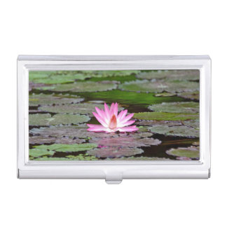 Asia Lotus Flower Business Card Holder