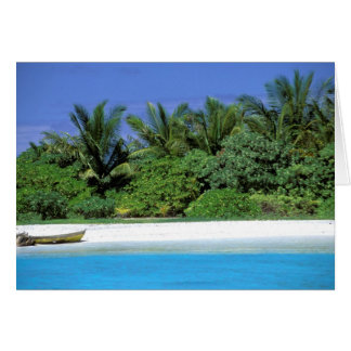 Asia Maldivas Atolón masculino del norte Tarjetón