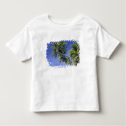 Asia, Maldive Islands. Man in hammock on 2 Toddler T-shirt
