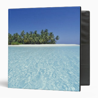 ASIA, Maldives, Ari Atoll, Uninhabited 3 Ring Binder