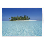 ASIA, Maldives, Ari Atoll, Uninhabited Card