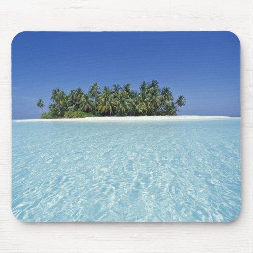 ASIA, Maldives, Ari Atoll, Uninhabited Mousepad