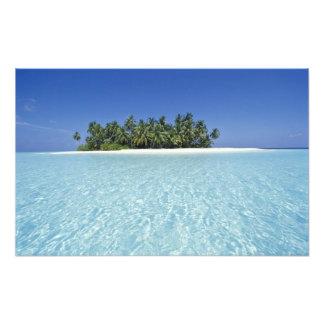ASIA, Maldives, Ari Atoll, Uninhabited Photo Print
