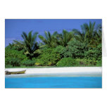 Asia, Maldives. North Male Atoll Card