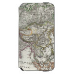 Asia Map by Stieler iPhone 6/6s Wallet Case