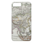 Asia Map by Stieler iPhone 8 Plus/7 Plus Case