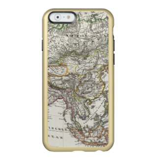 Asia Map by Stieler Incipio Feather® Shine iPhone 6 Case