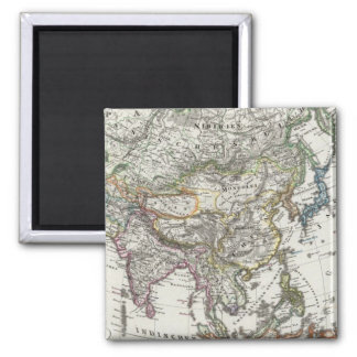 Asia Map by Stieler Magnet