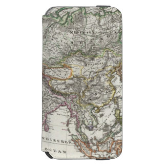 Asia Map by Stieler Incipio Watson™ iPhone 6 Wallet Case