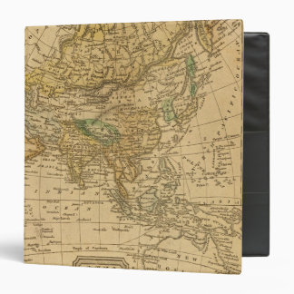 Asia  Map by Worcester 3 Ring Binder