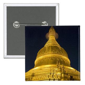 Asia, Mayanmar, Yangon, Buddhist temple in Button