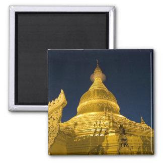 Asia, Maynmar, Yangon, Buddhist temple in Yangon Magnet