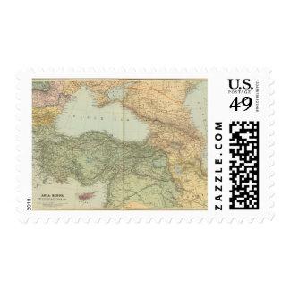 Asia Menor, el Cáucaso, el Mar Negro Sellos Postales