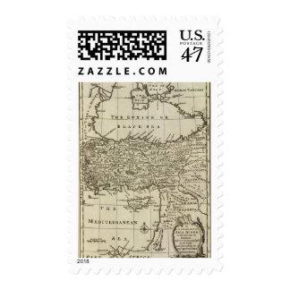 Asia Menor Sello Postal