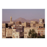 Asia, Middle East, Republic of Yemen, Sana'a. Print