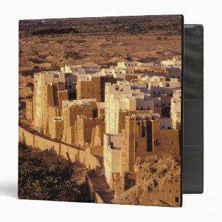 Asia, Middle East, Republic of Yemen, Shibam Vinyl Binder