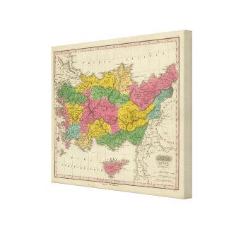 Asia Minor Antiqua Canvas Print